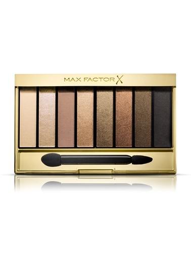 Masterpiece Nude Pallette Far Paleti 02 Golden Nudes-Max Factor